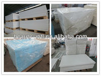 white and color customized cast pmma acrylic sheet for bathroom