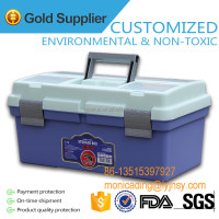 Hot sale! Plastic Multifunctional Storage Box / Sationary Case HB-635