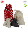 Wholesale Custom Natural Cotton Drawstring Jewelry Bags With Logo