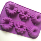 handmade craft flowershaped silicone mold for soap