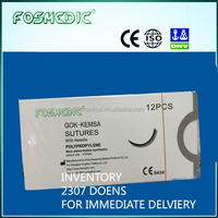 iNVENTORY polypropylene suture 2300 DOZEN TO BE SOLD OFF