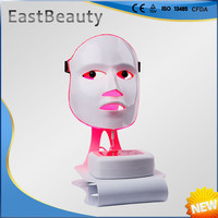 facial led mask red blue green led light treatment