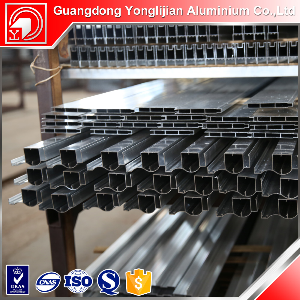 anodized extrusions aluminium profile frame used for curtain wall thermal break