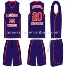 auburn company authentic custom basketball uniform design