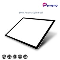 good quality adjustable A3 A4 size acrylic led tracing table