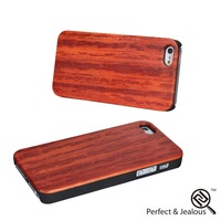 Best price Custom new design wood+pc material phone cover for iphone5\/5s