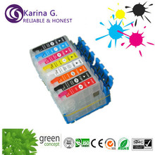 refill printer ink cartridge T1590 for epson R2000 ,with auto reset chip
