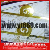 customized airline ticket printing in China