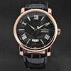 SY-WIN041 Classic mechanical automatic movement stainless steel back leather winner watch automatic