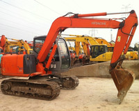 Used Small Excavator Hitachi ZX70 /Used Hitachi Mini Digger ZX70 /SMALL DIGGER EX70 original japan