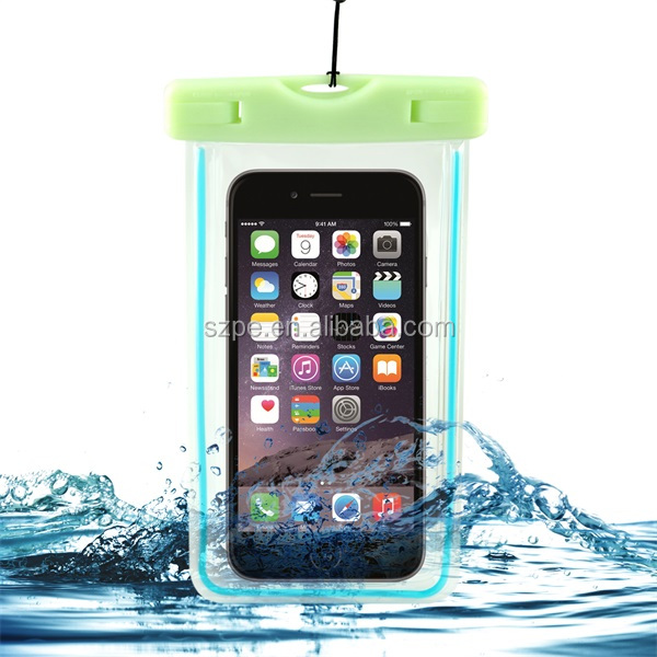 TPU eco-friendly mobile waterproof bag case for galaxy j2