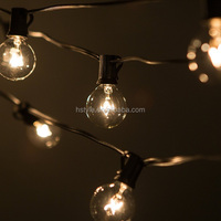 Clear Bulbs G40 Outdoor Decoration Globe