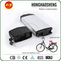 HHS portable battery rechargeable li-ion battery made in China 48v giant mountain bike battery