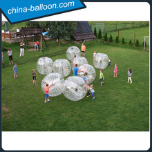 clear inflatable human body ball rolling grass for kids and adult for fun