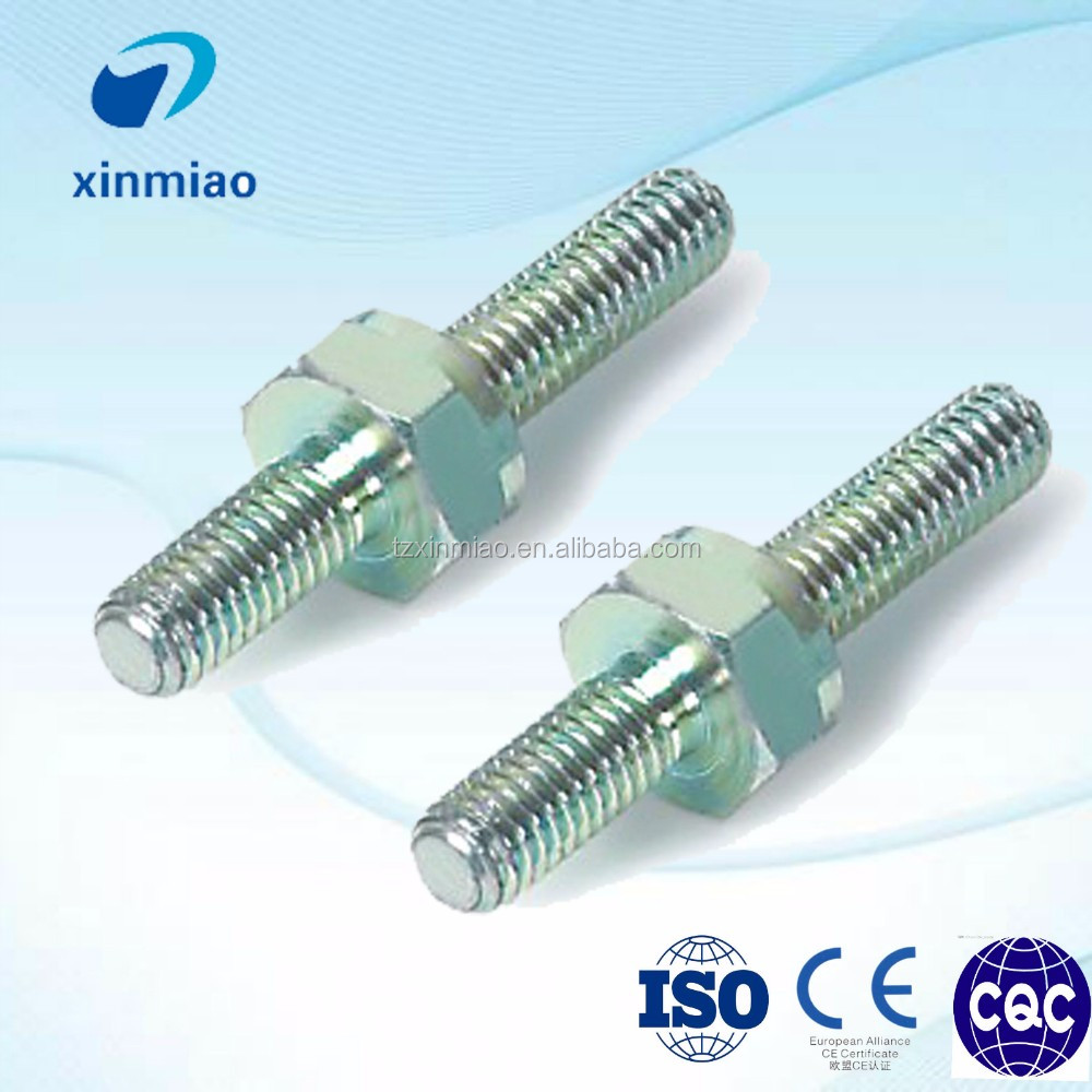 M4 M6 M8 double end studs with 4.8 grade
