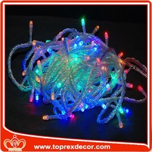 Commercial outdoor grape decorative led string lights