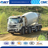 China good quality 6*4 VOVLO 6-16m3 Concrete/Cement Mixer Truck For Sale