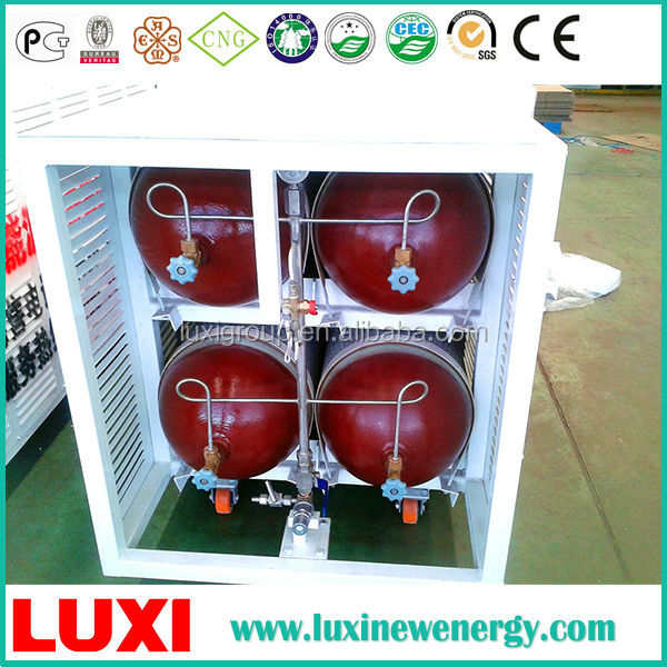 Customized design lock gas cylinder empty cng gas cylinder type 2