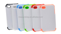 Dual Protective Silicone+Plastic sublimation Phone Case