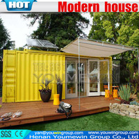 long life used prefab modular house container coffee shop mobile smart home, modern house