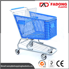 Foldable bakery trolley cart with metal stand