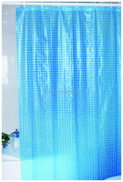 transparent fancy design shower curtain liner
