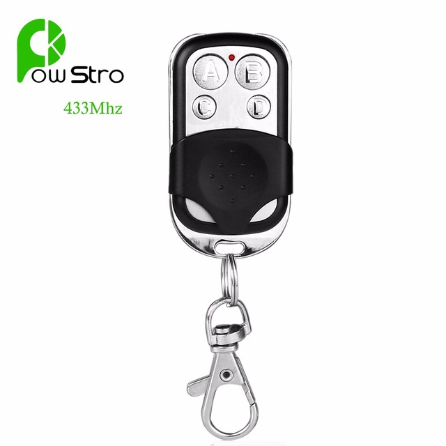 Automatic Cloning Remote Control 433Mhz Frequency Wireless Copy Controller Duplicator for Gate Garage Door Motorcycle Car Alarm