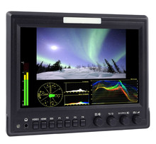 Aluminum Frame 1280x 800 IPS 7 Inch SDI Professional LCD Monitor with Check Field ,Waveform ,RGB Histogram