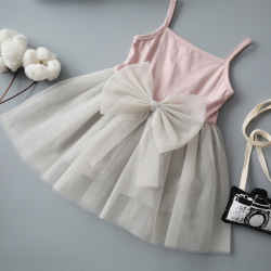 Made In China Baby Girl Wedding Party Wear Dress With Butterfly
