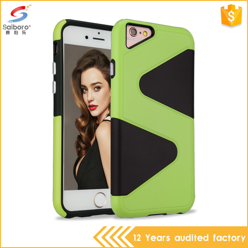 best selling products 2016 in usa S line design tpu pc durable phone case for iphone 6