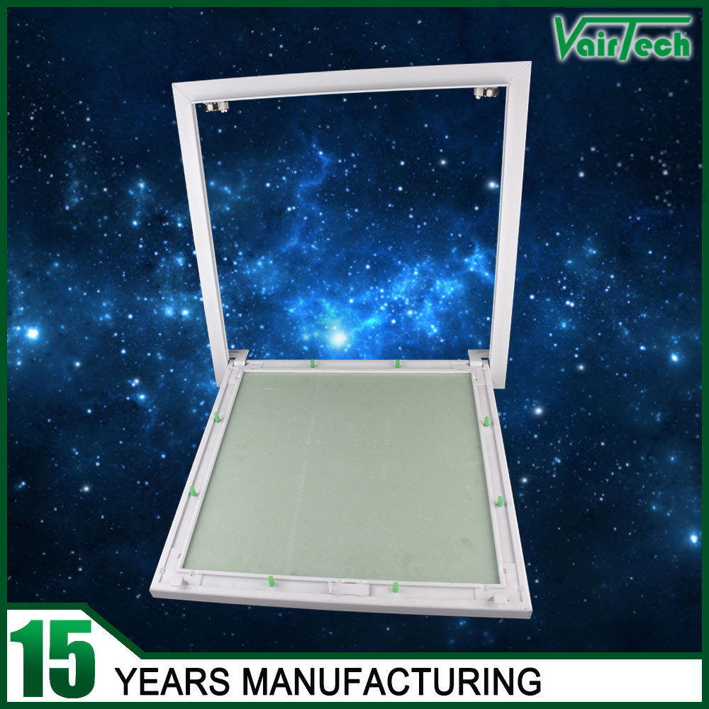 waterproof aluminum press lock type plasterboard access panels