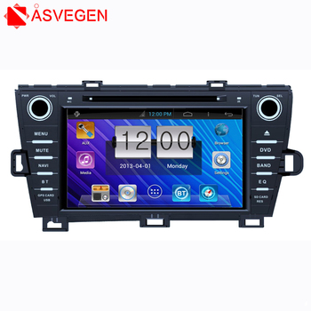 Auto Audio 2 Din Car DVD Player Touch Screen For Toyota Prius with GPS/TV/FM/Bluetooth/MP3/SD