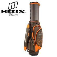 China TOP brand Helix wholesale golf bag with wheels /golf tour staff bag with wheels / golf caddy bag with wheels