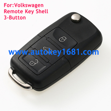 Flip Remote Key Shell fit for VW volkswagen Jetta Sharan Transporter Flip car key case