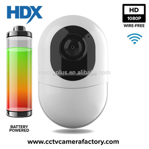 low cost 1080p 2mp battery cctv wireless pir camera supported Micro SD (TF) Card + Free Cloud Storage