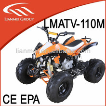 quad bike atv 110 with CE with automatic or reverse gear engien