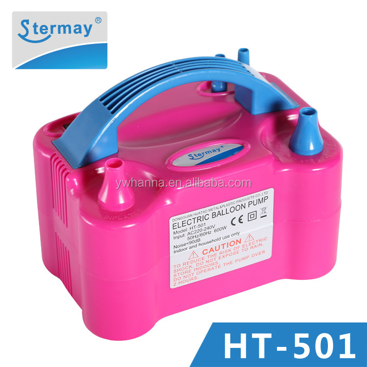 Hand held electric balloon air pump inflator,portable balloon pump electric