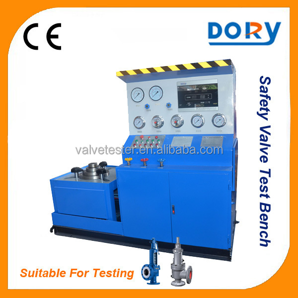 High Performance Spring Loaded Safety Valve test bench