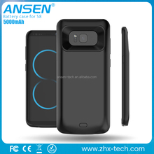 High Capacity External Battery Case 5000mAh For Samsung S8 Smart Power Charging Case