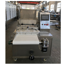 Automatic PLC control cookie machine/biscuit machine/industrial cookie press