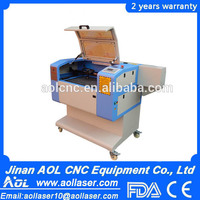 AOL-6040 co2 cnc laser engraver and cutter,wood engraving machines,acrylic laser cutting machine