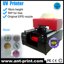 Small Format A3 Size 6 Color DX5 Multifunction LED UV Flatbed Digital Printer