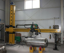 Automatic and Economic Welding Column Manipulator / Welding Cantilever Tank Pipe Cylinder Welding Machine