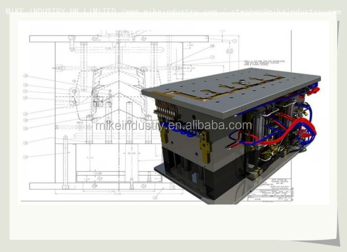 Alibaba quality plastic mould and injection mold hollow block plastic interlock mold mould for concrete blocks