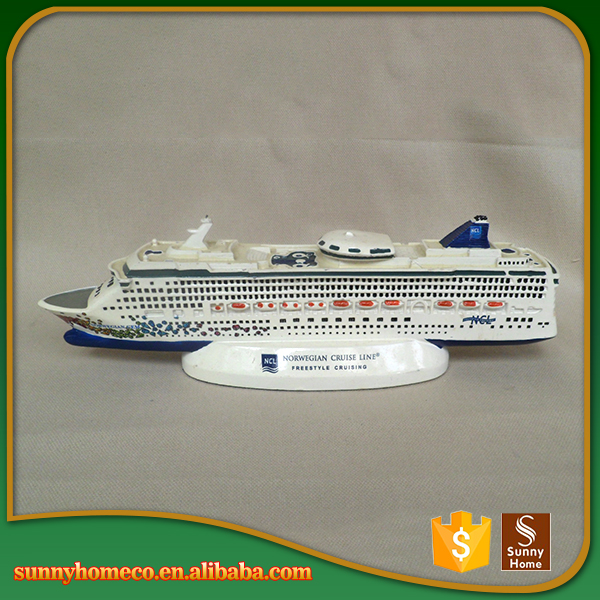 Hot Sale !! Promotional Gift New Style High Quality Polyresin Model Ship Kit