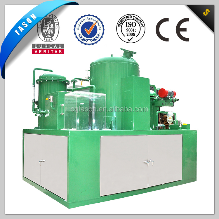 Small Scale Waste Black Oil recycling Machine(change black to light yellow)