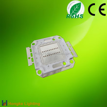 20w High power led chip red 630nm led Lamp light with CE&RoHS