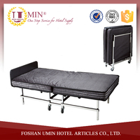 Hotel Stainless Steel Folding Bed