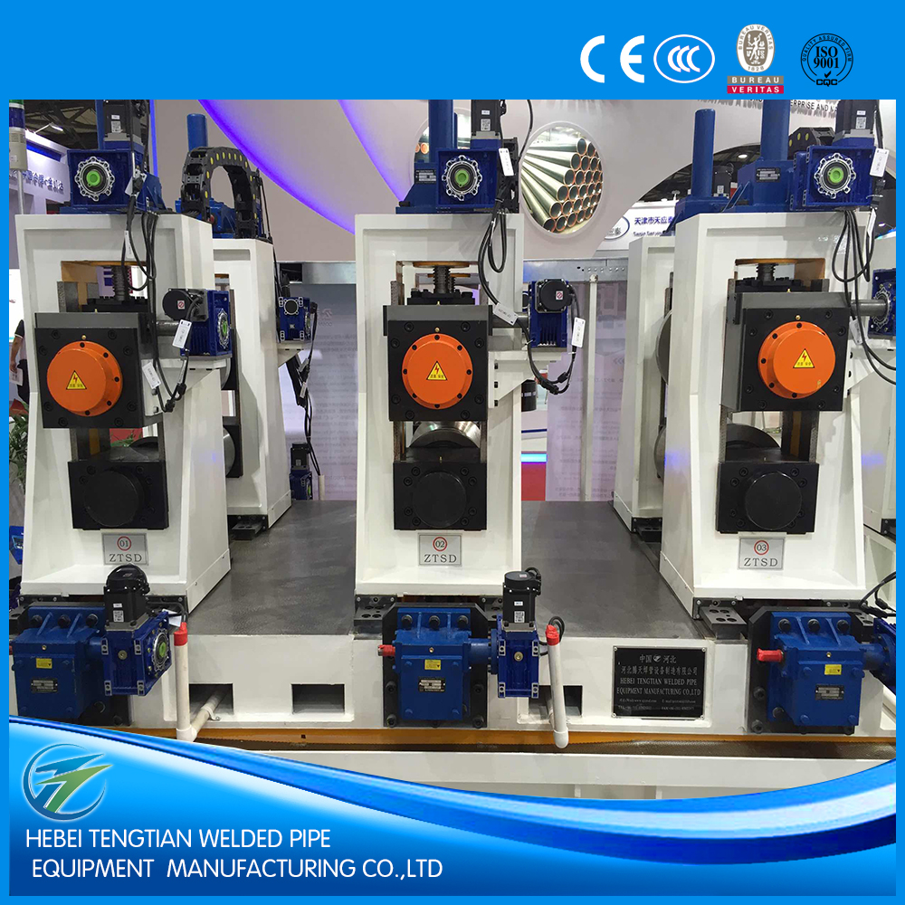 china hebei steel pipe making machine manufacturing produce square/round/rectangular tube