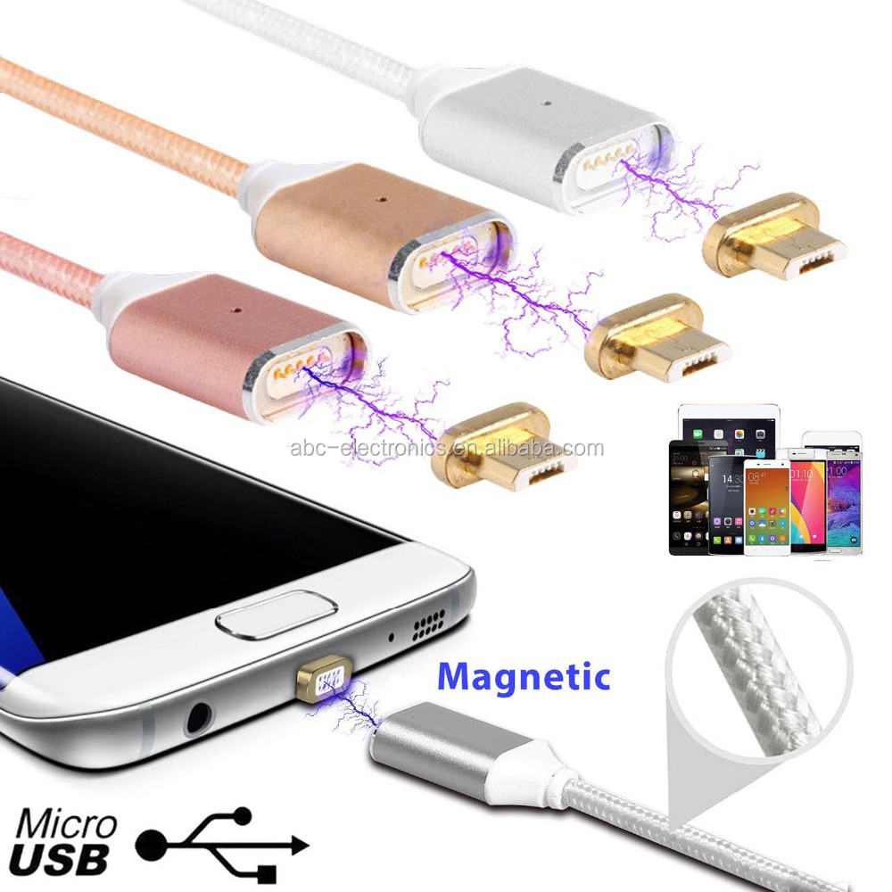 Magnetic Data Cable For iPhone Magnetic Charger Cable And Android Smartphone with Data Sync Charger